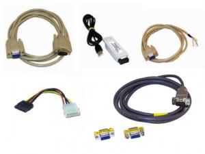 Cargadores-Eliminadores, Baterias y eliminadores, Cables de comunicación